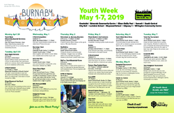Download the Burnaby Youth Week Poster