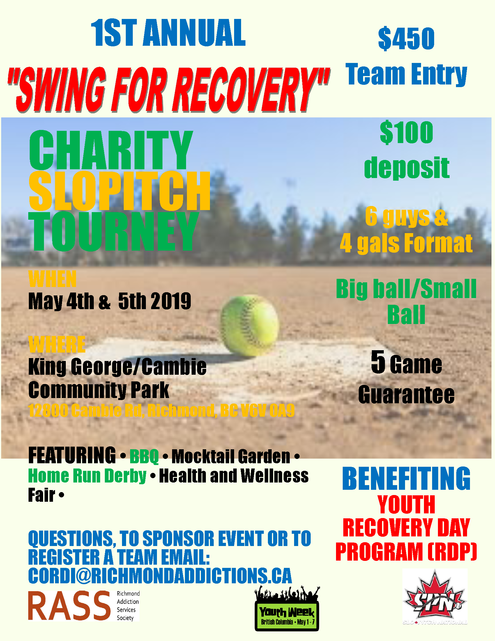 Charity Slowpitch Tourney